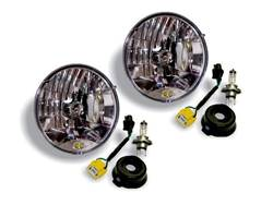 Picture of Headlight Conversion Kit - For Use w/H4 Headlights - Incl. 2 Headlight Replacements - 2 Conversion Cables For H13 To H4 Bulbs