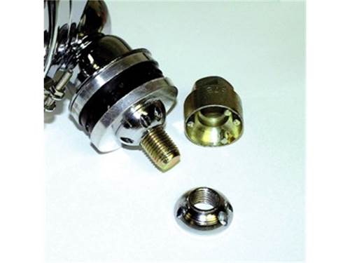 "Picture of Lite Locks - Chrome - For Use w/1.5"" Bolts - Pair"