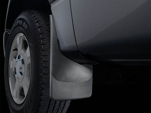 Picture of No-Drill Mud Flaps - Rear - With Factory Flares - With Fender Trim Molding