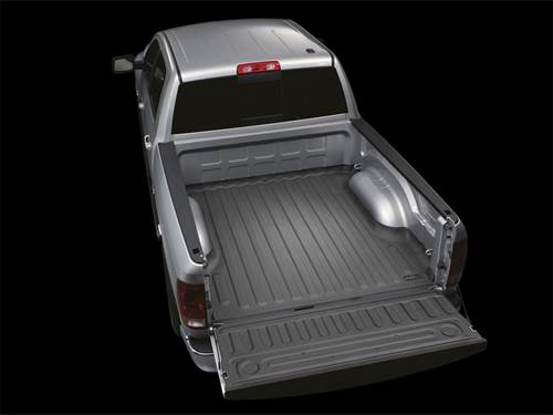 "Picture of WeatherTech TechLiner - Bed Mat - Black - 5' 7"" Bed"
