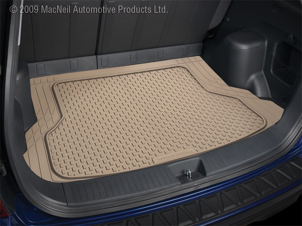 Weathertech Universal Cargo Mat Tan 4 Piece Set