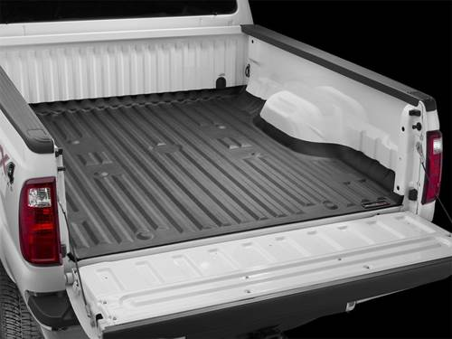 """Picture of WeatherTech TechLiner - Bed Mat - Black - 6' 9.8"""" Bed"""