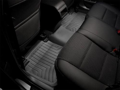 440661-1st Row Black WeatherTech Custom Car//Truck Floor Mat FloorLiner