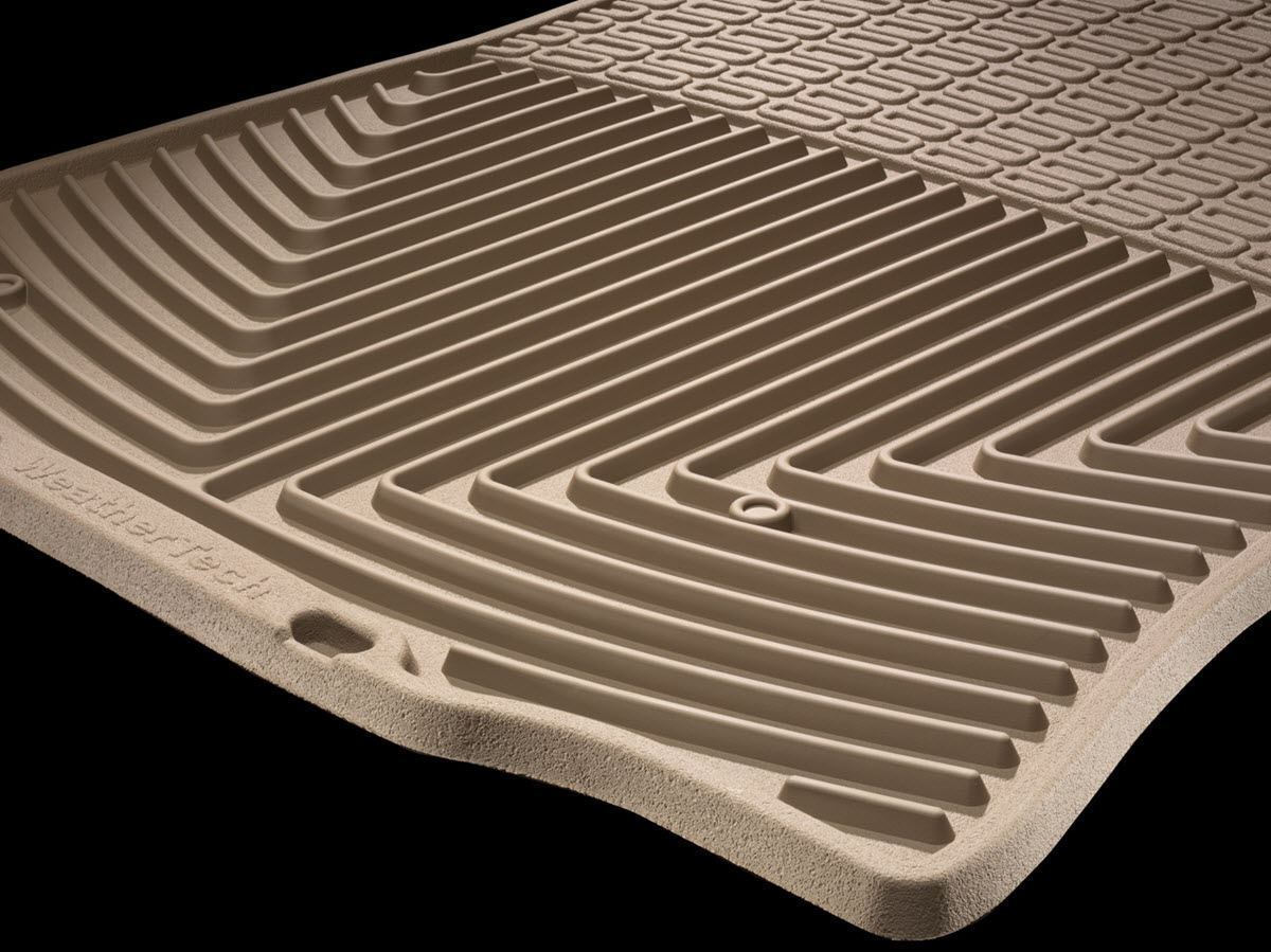 weathertech allweather floor mats close up