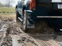 WeatherTech No-Drill Mud Flaps - In Mud
