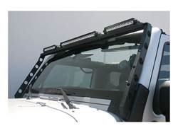 Aries Jeep Roof Light Bar - Installed