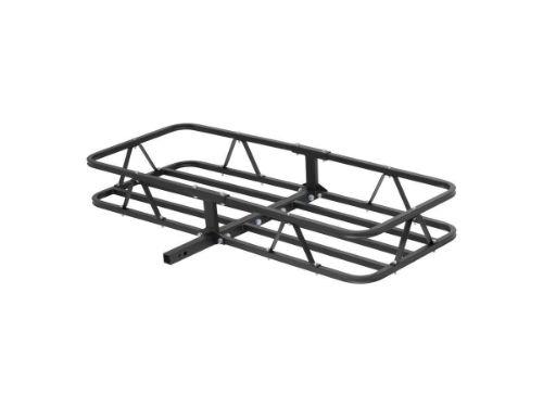 In Folding Shank Steel Black Curt Basket Style Cargo Carrier Luggage 60 In x 24