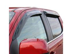 Wade Tape On Low Profile Wind Deflector - Installed