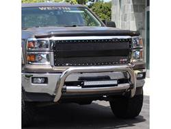 Westin Contour 3.5 Inch Bull Bar - Chrome Stainless - Installed