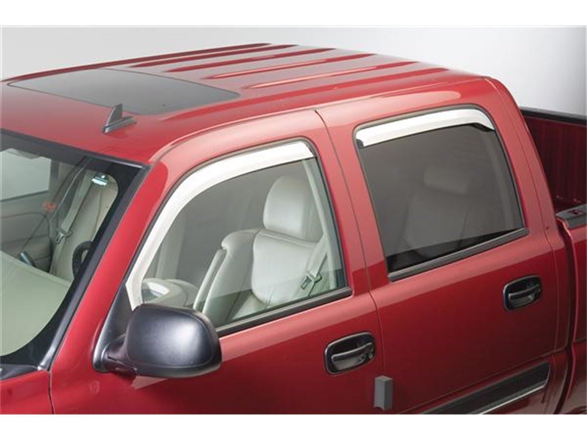 Putco Element Chrome Window Visors Sharptruck Com