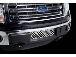 Putco Bumper Grille Insert - Stainless Steel