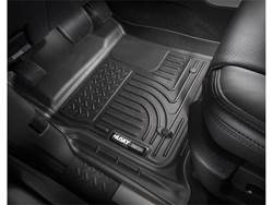 Picture of WeatherBeater Floor Liner - Black - 2 Piece Front/1 Piece Rear - Second Seat Liner Covers Footwell Area Only