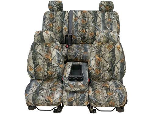 Remarkable Seatsaver Custom Seat Cover True Timber 3D Image Camo W 60 40 Bench Seat W Covered Fold Down Console Pabps2019 Chair Design Images Pabps2019Com