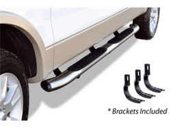 Go Rhino 5 in. OE Xtreme Composite SideStep Nerf Bars - Stainless Steel