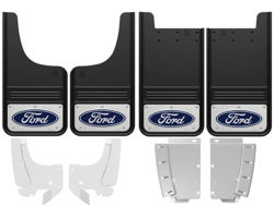 Ford F-150 Blue Oval Gatorback Mud Flap Set