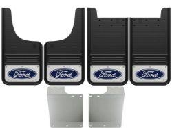 1999-2016 Ford F250/F350 Blue Oval Gatorback Mud Flap Set