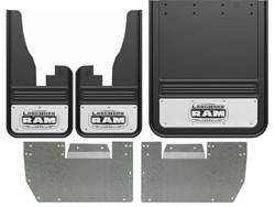 Dodge Ram Longhorn Gatorback Dually Mud Flap Set