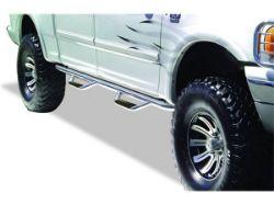 Go Rhino Dominator D2 Cab Length SideSteps - Stainless Steel