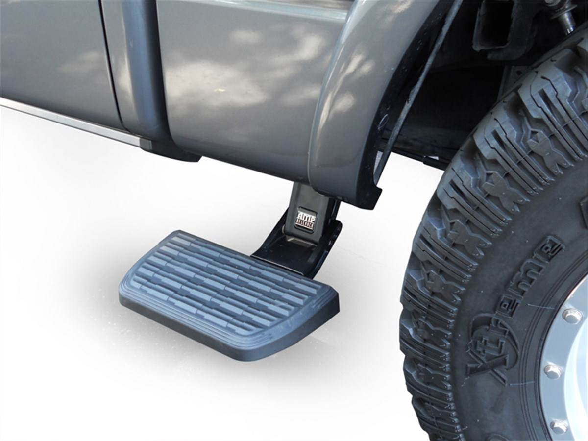 2017 Silverado Accessories >> AMP Research BedStep2 - Behind The Cab Step - 75413-01A - SharpTruck.com