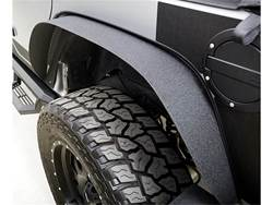 Picture of Trail Flares - 4 pc. - Tire Coverage 3 in. - Flare Height 4.5 in. - Textured Black Powder Coated Finish