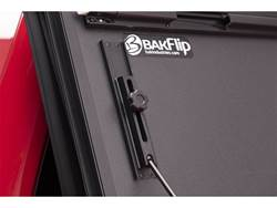 BAKFlip MX4 Hard Folding Truck Bed Cover - Folded