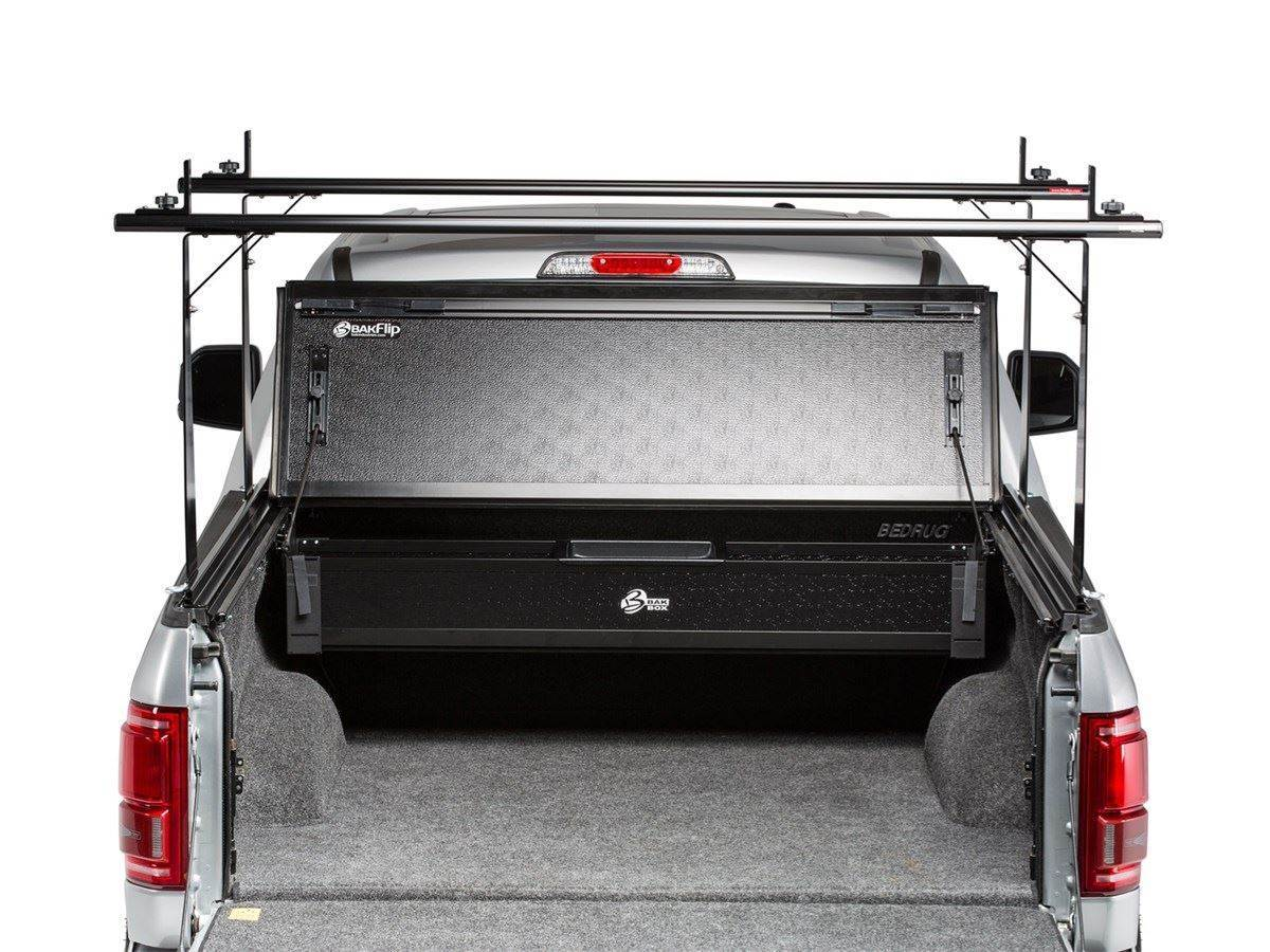 Bakflip Cs Hard Folding Truck Bed Cover Integrated Rack