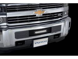 Putco Bumper Grille Insert - Black Powder Coat - Lighted
