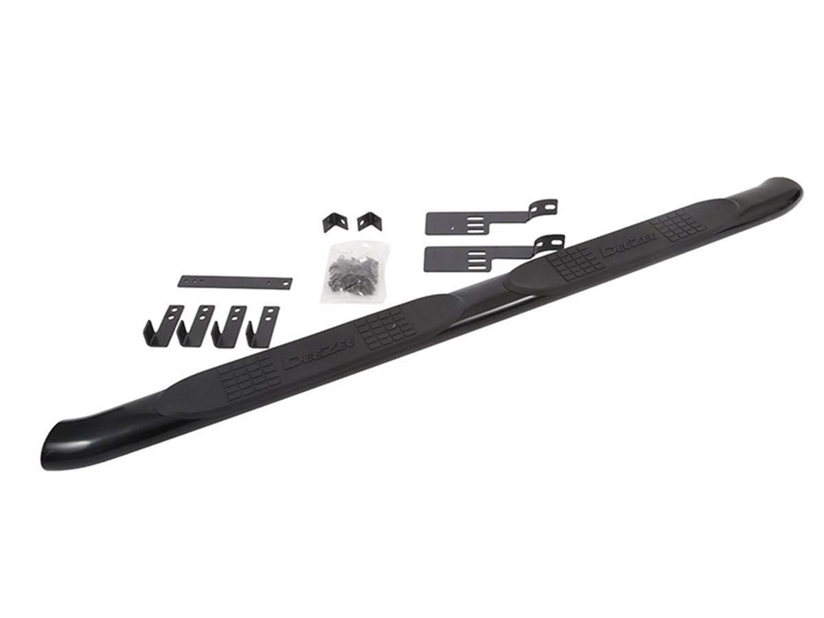 Dee Zee Ultrablack Aluminum Side Steps Universal 4 Quot Oval