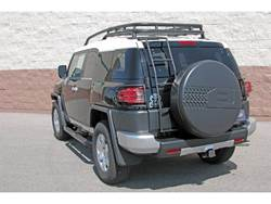 Dee Zee UltraBlack FJ Cruiser Mounted Ladder