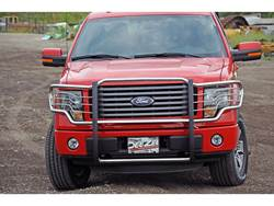 Dee Zee Stainless Steel Euro Grille Guard