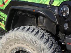 Westin Tubular Jeep Fender Flares