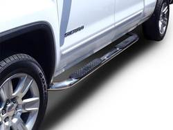 "Westin Platinum 4"" Oval Wheel to Wheel Nerf Step Bars"