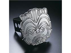Picture of Trailer Hitch Cover - Hula Tiki - Aluminum - Polished