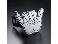 Picture of Trailer Hitch Cover - Hang Loose - Aluminum - Polished