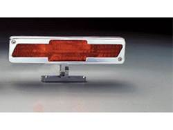 Picture of Pedestal Third Brake Light - Polished - Chevrolet Bow-Tie
