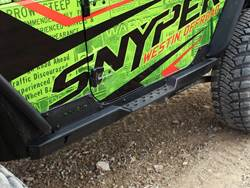 Westin Snyper Jeep Rock Slider Steps