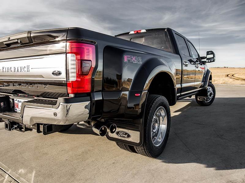 2018 ford dually limited. delighful ford picture of 20172018 ford f450f550 black oval gatorback dually mud flap set in 2018 ford dually limited