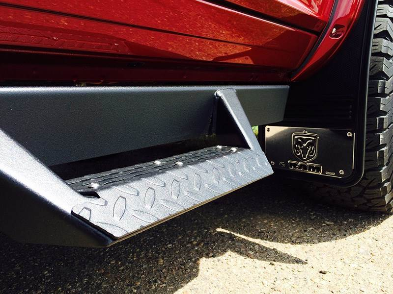 How To Make Car Seat Covers >> Truck Hardware 2009-2018 RAM Vertical Logo Front Mud Flaps ...