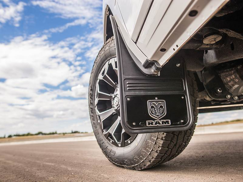 Truck Hardware Gatorback Mud Flaps - RAM Vertical With ...