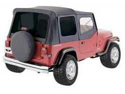 Rampage Jeep Complete Soft Top Kits