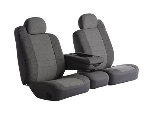 Oe Universal Fit Seat Cover - Tweed - Gray - Bucket Seats - High Back -  Bostrom Wide Ride