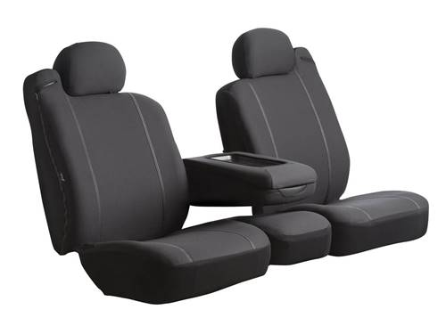 Seat Protector Universal Fit Seat Cover - Poly-Cotton - Black - Bucket  Seats - High Back - Bostrom T-Series