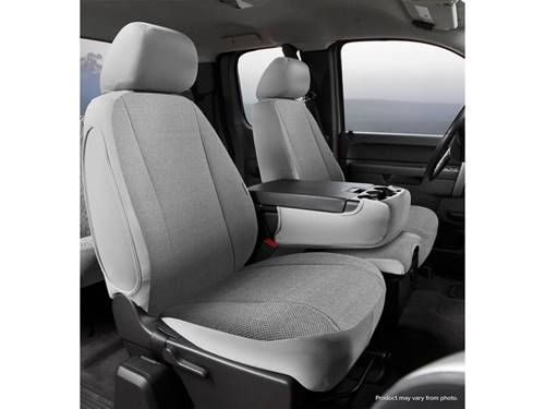 Wrangler Universal Fit Seat Cover - Poly-Cotton - Gray - Bucket Seats - Low  Back - National Standard Series