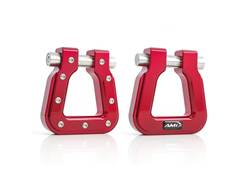 Picture of AMI Demon Hook 2.0 Square D-Ring - Pair - Red