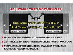 Picture of Rock Tamers Hitch Mounted Mud Flaps
