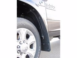 Picture of 2010-18 RAM 3500 Logo With Black Wrap Gatorback Dually Mud Flaps - Set