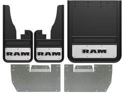2010-2018 RAM Text Gatorback Dually Mud Flap Set