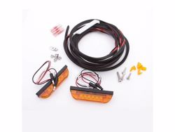 Picture of Bushwacker LED Marker Light Kit - 3 Wire - For Use With Flat Style Flares