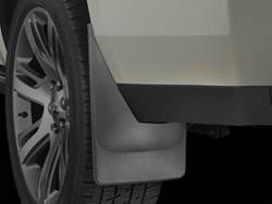 Picture of No-Drill Mud Flaps - Rear - Without Factory Flares - With Factory Power Running Boards