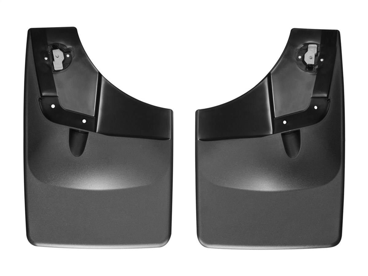 weathertech no-drill mud flaps - rear